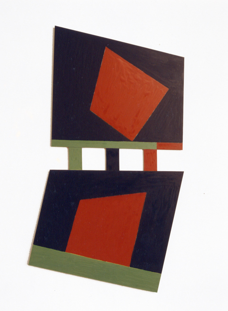 1988 110x60cm  OIL ON ALUMINIUM                       (143K)